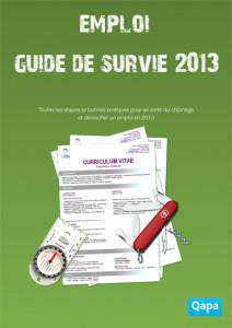 Qapa.fr guide de survie 2013 emploi