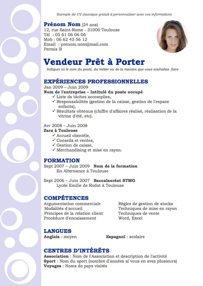 cv employ u00e9 de maison  u2013 ventana blog