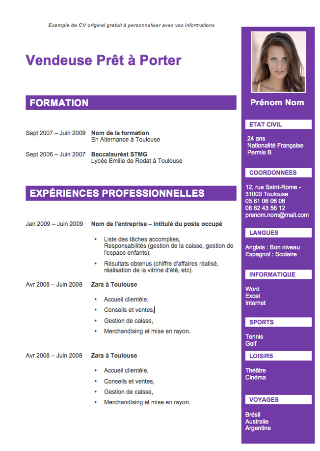 Spéciale Cv  Exemples De Cv Originaux Gratuits. Cover Letter Format Research Paper. Cover Letter Sample Ubc. Resume Writing Services Lexington Ky. Application For Employment Download. Letter Writing Format Request. Letter Format For Business. Resume Examples Teacher. Sample Cover Letter For Resume Phlebotomist