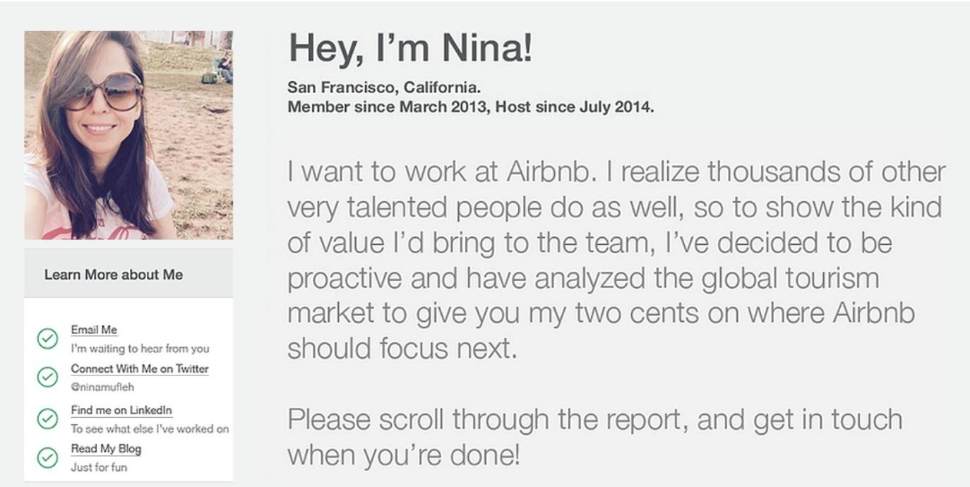 le cv qui a impressionn u00e9 le ceo de airbnb