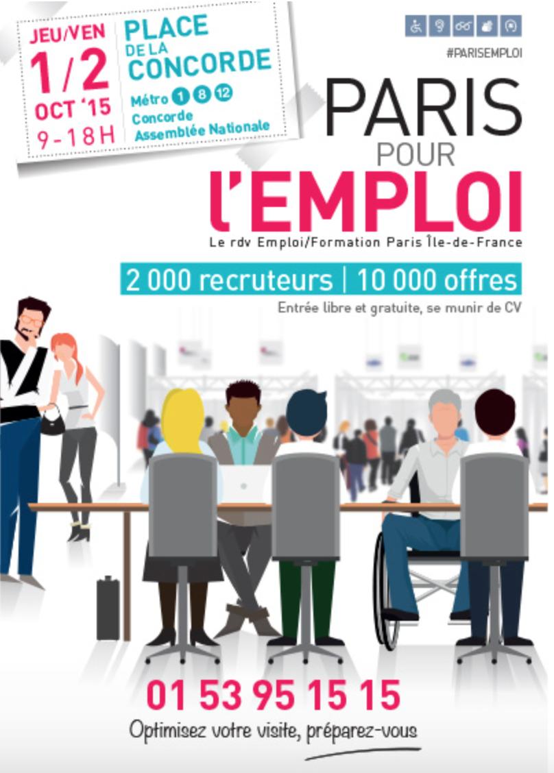 Paris pour l'emploi