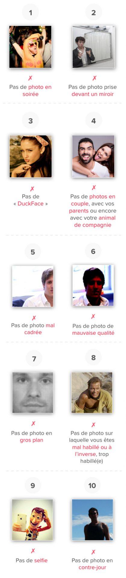 Erreurs photos a eviter