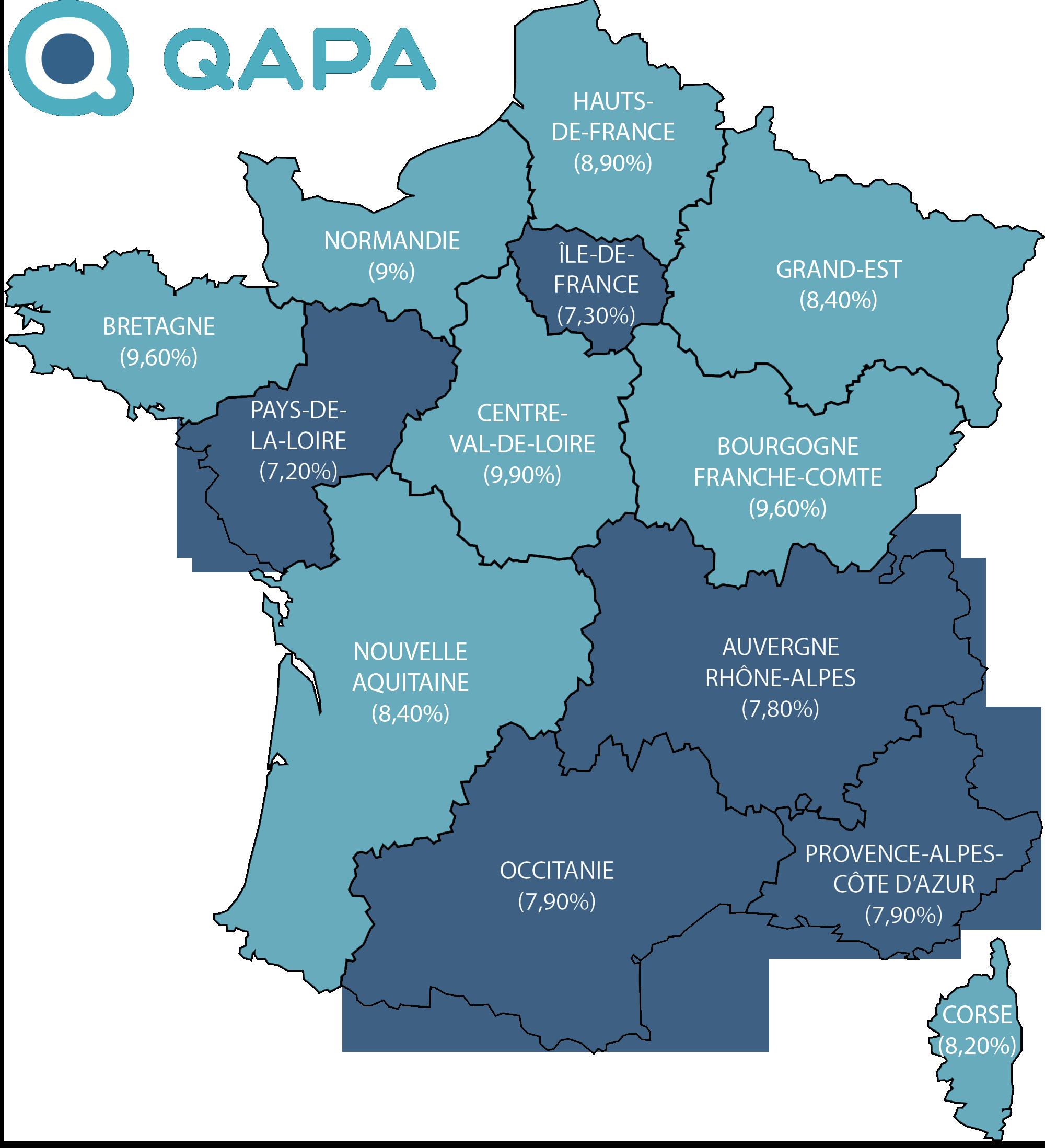 Taux De Chomage Par Region